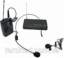 Беспроводная радиосистема UKC-300 (головной+петличный_