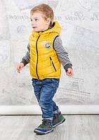 Evolution Жилетка для хлопчика 30-ВМ-17 гірчичний