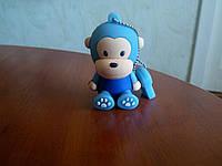 Флешка силиконовая 16гб обезьянка