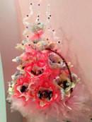 """Букет из конфет на подарок """"Розовый щербет"""""""