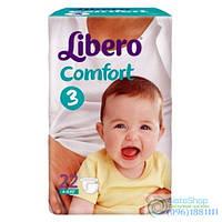 Подгузники Libero Comfort 3 Midi 4-9 Кг 22 Шт