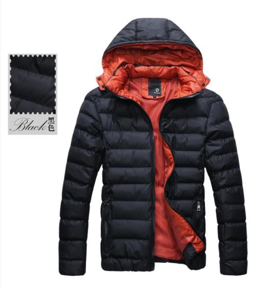 Мужская куртка-пуховик. Весна-Осень. Модель 065.