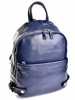 Рюкзак кожаный женский 302 HZ Blue