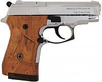 Стартовый пистолет Stalker 914 (матовое хромирование)