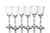 Набор бокалов Bohemia Angela для вина 6 шт. (185 мл)