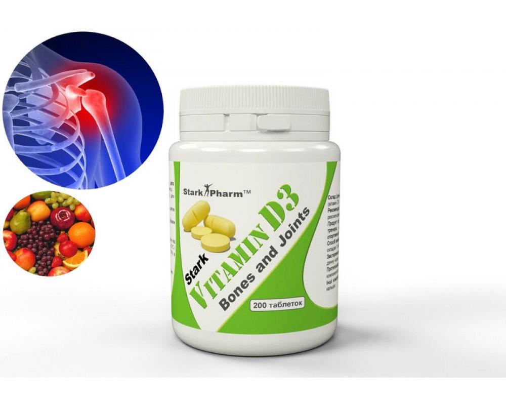 Vitamin D3 2000 IU Stark Pharm 200 таб