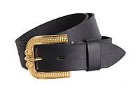Женский кожаный ремень под джинсы