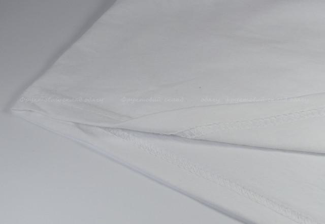 Мужская футболка комбинированная, Белый/Красный