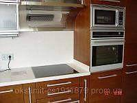 Кухня с фасадами МДФ шпонированный