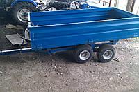 Прицеп двухосный прицеп HS-2T для тракторов и минитракторов