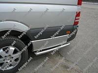 Пороги боковые (трубы) - продолжение порогов Volkswagen Crafter