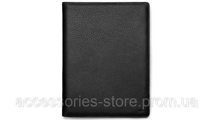 Кожаная папка Audi Leather folder, black