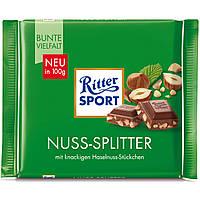 Шоколад Ritter Sport Nuss-Splitter Лесной Орех 100г