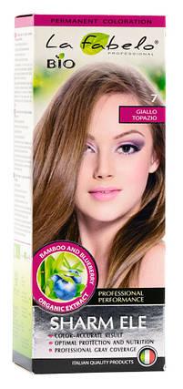 Крем-краска для волос био 50мл тон 7 La Fabelo Professional, фото 2