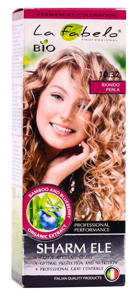 Крем-краска для волос био 50мл тон 10.32 La Fabelo Professional