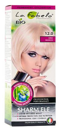 Крем-краска для волос био 50мл тон 12.0 La Fabelo Professional, фото 2