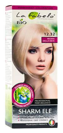 Крем-краска для волос био 50мл тон 12.32 La Fabelo Professional, фото 2