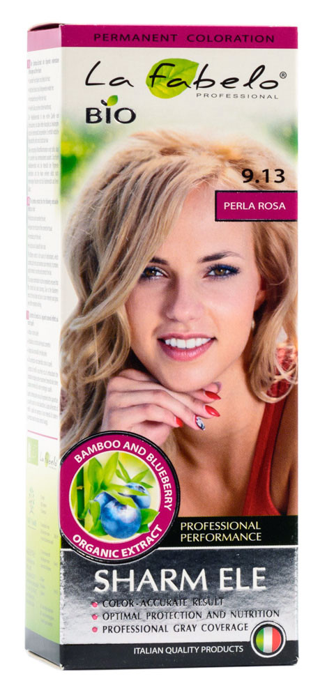Крем-краска для волос био 50мл тон 9.13 La Fabelo Professional