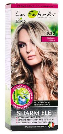 Крем-краска для волос био 50мл тон 9.32 La Fabelo Professional, фото 2