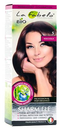 Крем-краска для волос био 50мл тон 5 La Fabelo Professional, фото 2
