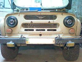 Установка биксеноновых линз G5 на УАЗ 1