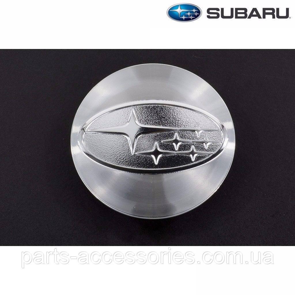 Subaru Forester 2014-16 серебряный колпачок в диск Новые Оригинал