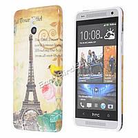 Пластиковый чехол для HTC one mini M4, H1401