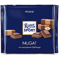 Шоколад Ritter Sport Nougat Нуга,пралине 100г