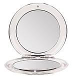 Косметичне дзеркало кишенькове складене із збільшенням х3 TITANIA art.1538, фото 5