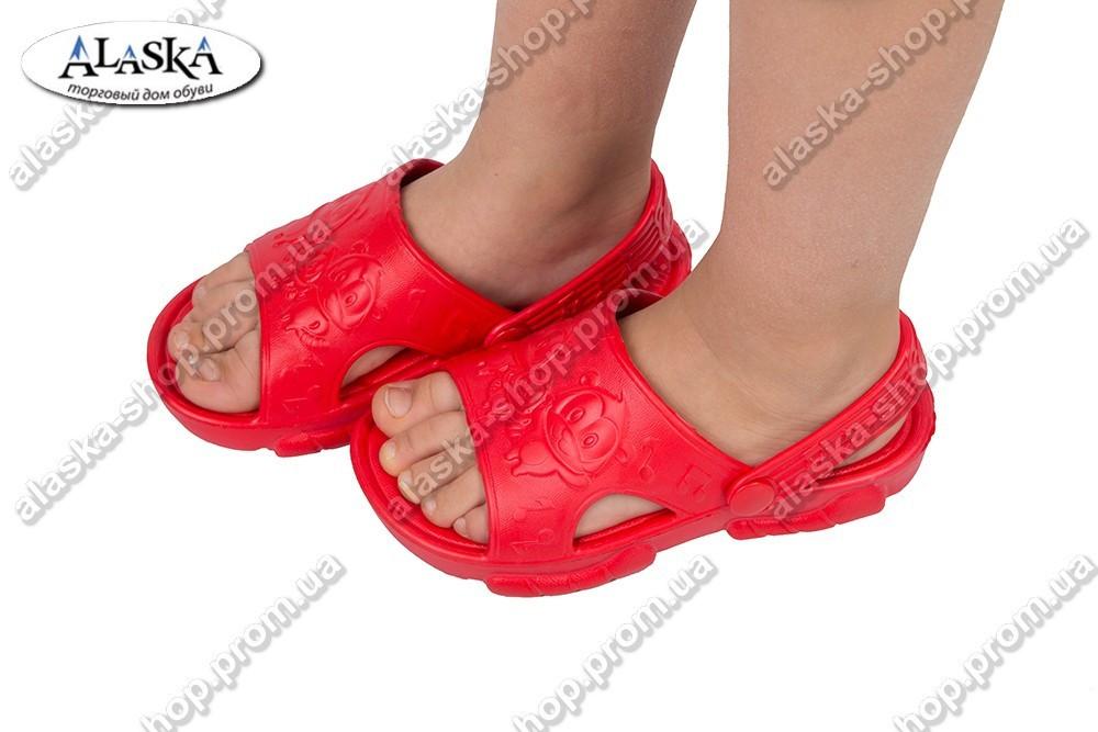 Детские сандалики красные (Код: ПД-01)