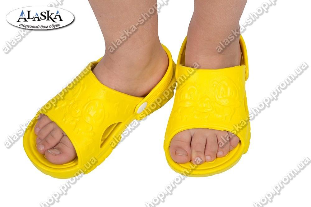 Детские сандалики желтые (Код: ПД-01)