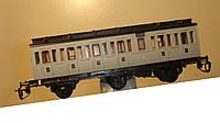 3-осный  купейный вагон 4 класса № 2401