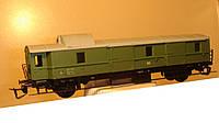 2-осный  багажный вагон DR зеленый