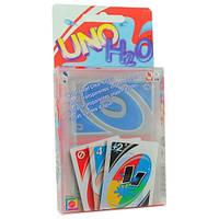 Настольная карточная игра Uno Н2О Уно, пластик