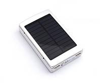 Внешний аккумулятор с фонариком   Повербанк   Power Bank Solar Charger 30000 mAh