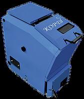 Котел бытовой твердотопливный Корди КОТВ - 16 (сталь 5мм, верхняя загрузка)