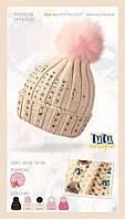 Шапка для девочки  из коллекции TuTu Unique арт. 3-002523