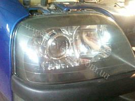 Установка биксеноновыз линз G5 на Fiat Doblo 2