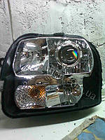 Установка биксеноновыз линз G5 на Fiat Doblo 4