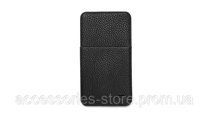 Кожаный чехол Audi для iPhone 6 Plus Leather Case Black