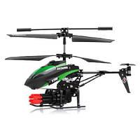 РУ вертолет WLToys V398 с ракетной установкой 3.5кан