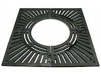 Решетка приствольная квадратная  РП-100 100-СЧ чугунная
