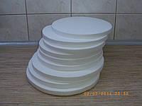 Подложка Ø 30 см 3002 (подставка, основа) из пенопласта под торт