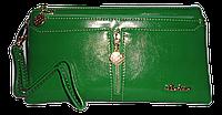 Женский кошелек Balisa зеленого цвета из кожзама LLP-062419