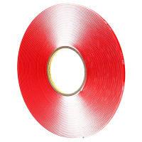 3M™ Двухсторонняя клеящая лента ( скотч ) VHB™ 4918F 6мм х 16,5м, толщ. 2мм