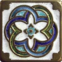 Декоративная плитка. Бронза покрытая эмалью. Kaleidoscope (5x5)