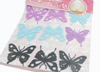 Большие бабочки для декора 9 штук