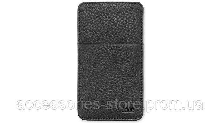 Кожаный чехол Audi для Samsung Galaxy S6, Leather Case Black