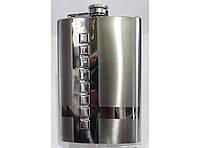 Стильная фляга для алкогольных напитков F1-14, фляжка из нержавеющей стали