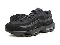 "Кроссовки мужские  Nike Air Max 95 ""Triple Black"" черные"